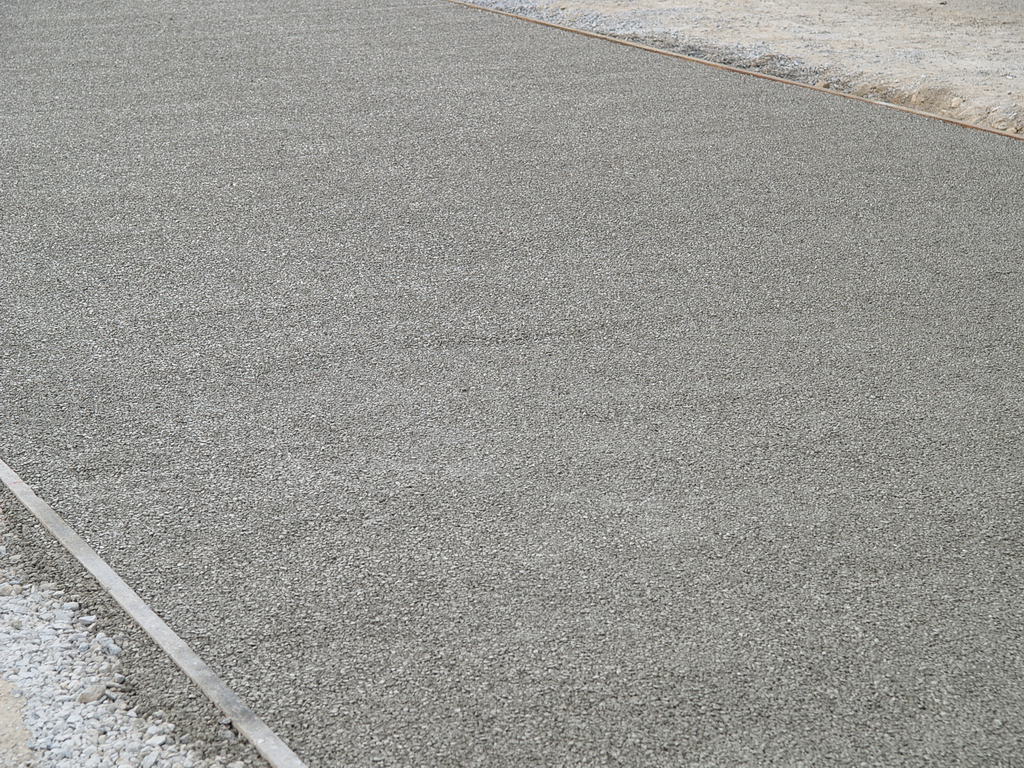 Porous Concrete Paving